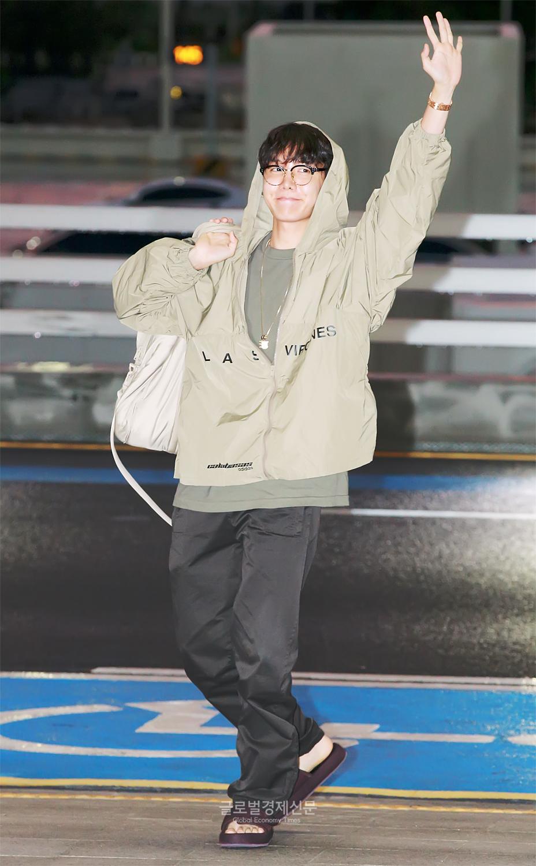 [GET포토] 방탄소년단(BTS) 제이홉, '아미들 귀여운 햄찌 호석이가 왔어요'