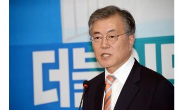 """문재인 """"사드 배치 잠정 중단.. 북핵 폐기 노력을"""" 朴에 제안"""