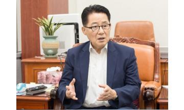 """박지원 """"새누리당 의원들, 탄핵열차 빈 좌석에 꼭 탑승해달라"""""""