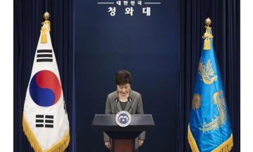 국회, 박근혜 대통령 탄핵 압도적 가결…찬성 234표, 반대 56표