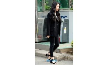 [BIG포토] 트와이스 채영, 올 블랙 아기맹수