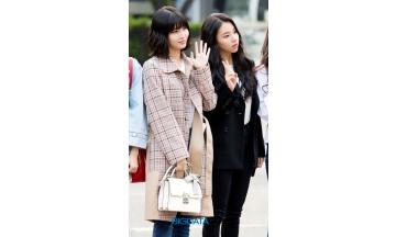 [BIG포토] 트와이스 모모-채영, 봄처럼 화사한 소녀들