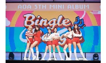 AOA, '빙글뱅글'로 美 아이튠즈 K팝 차트 13개국 'TOP3'