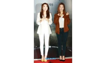 [BIG포토] 이보람-김연지, 우리 규리 파이팅 데자뷰도 파이팅~
