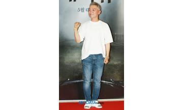 [BIG포토] 조재윤, 남자라면 포즈는 역시 주먹~!