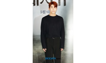 [BIG포토] 김사권, 시선 사로잡는 올 블랙