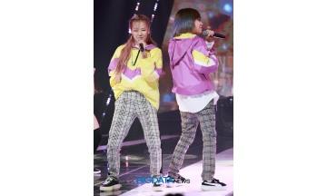 [BIG포토] 칸(KHAN) 전민주-유나킴, 노래 실력으로는 1위인 소녀들