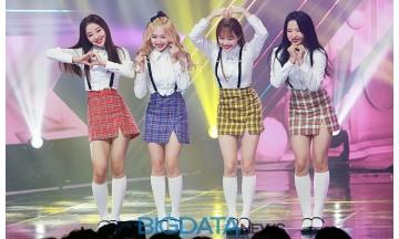 [BIG포토] 이달의 소녀 yyxy, 팬 여러분 이만큼 사랑해요~ (쇼 챔피언)