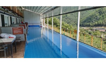 여름 주말여행, 가평 오세르펜션 온수 해수풀 수영장에서 힐링해요