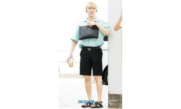 [BIG포토] 세븐틴(Seventeen) 승관, 으아~ 커피 너무 셔