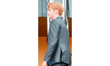 [BIG포토] 워너원(Wanna One) 강다니엘, 완벽 비주얼의 아기 어피치 강다녤 입장 (2018 소리바다 어워즈)
