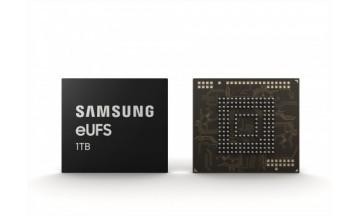 삼성전자, 세계 최초 '1TB eUFS' 양산… 스마트폰 내장메모리 테라바이트 시대 열어