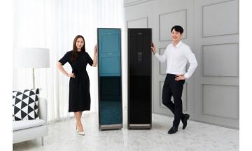 삼성전자 의류 청정기 '에어 드레서' 블랙 에디션 출시…옷 전문 관리 가능