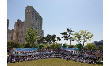 부영그룹, 전국 '부영 사랑으로 어린이집'에 티셔츠 깜짝 선물