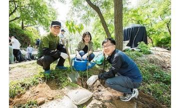 효성중공업-협력사 '상생 나무' 심기…조현준 회장