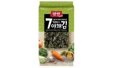 동원F&B, 좋은 원초에 7가지 야채 영양 담은 '양반 야채김' 출시