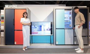 삼성전자, 전국 주요 백화점 순회…맞춤형 냉장고 '비스포크' 로드쇼 진행