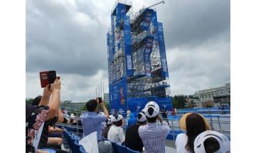 광주세계수영대회, 인기종목 하이다이빙 관객 대거 몰려