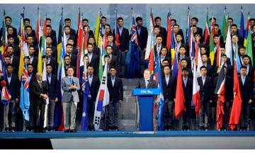 광주세계수영대회, 청와대 힘 보탠다...김정숙 여사 광주 방문