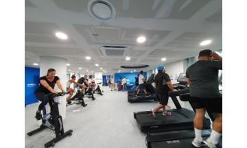 광주세계수영대회, 선수들 최고 인기 지역은 '플레이룸'…피트니스센터 뒤이어