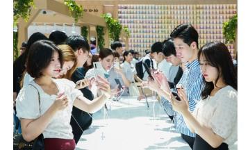 [포토뉴스] 삼성전자, 팬과 함께하는 '갤럭시 노트10 5G' 체험 마케팅 개시