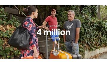 에어비앤비 하루 이용자 400만 명 달성 대기록 수립… '하나로 연결' 큰 효과