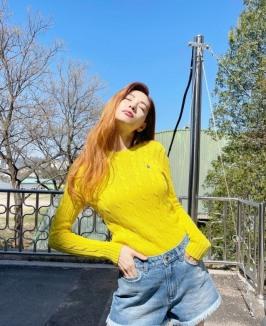 170cm 51kg 모델 포스 나나...봄나들이도 고퀄 화보샷 [SNS★]