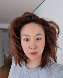 김지혜, 폭탄 머리 근황 공개…'폭소 유발' [SNS★]