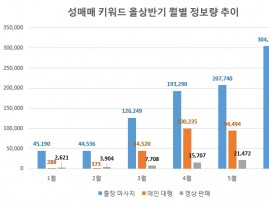 '성매매' 키워드 정보량 'n번방' 사태후 급증…'풍선효과' 우려