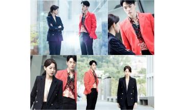 MBC 새 수목드라마 '시간' 김정현-황승언, '분노 폭발 투 샷' 초반부터 살벌
