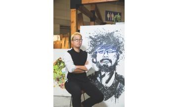 히알루론산 필러 '모나리자', 팝아트 이언 작가와 이색 콜라보레이션 진행