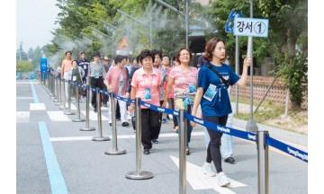 광주세계수영선수대회, 개막 4일 만에 서울시민 1만8천여명 단체 관람