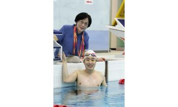 광주마스터즈수영대회, 자폐장애 1급 이동현의 '멋진 도전' 눈길