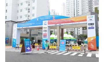 광주세계수영선수대회 조직위, 선수촌~광주공항역간 무료 셔틀버스 운행