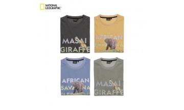 내셔널지오그래픽 어패럴, 멸종 위기 동물 그래픽 디자인 '그린티 컬렉션' 선보여