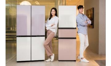 삼성전자, 새로워진 '비스포크' 냉장고 출시...