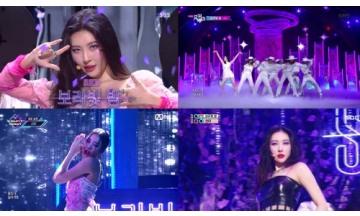 선미, 신곡 '보라빛 밤' 1주 차 활동 '성공적으로 물들인 보랏빛'