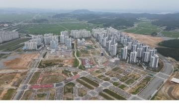 전남개발공사, 무안 오룡지구 국내 최대 썬큰형 첫 공동주택 입주