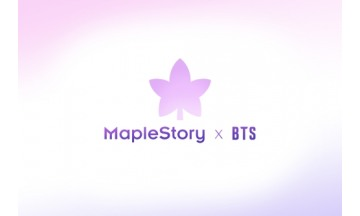 넥슨, '메이플스토리 X BTS' 컬래버레이션 실시