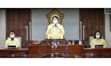 순천시의회 본회의 열고, 제3회 추경 등 6건 의결