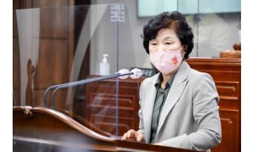 순천시의회 이영란 의원, 경전선 전철화 뒷북행정 지적