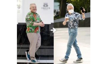 김형석, 21kg 다이어트…확 바뀐 스타일 과시