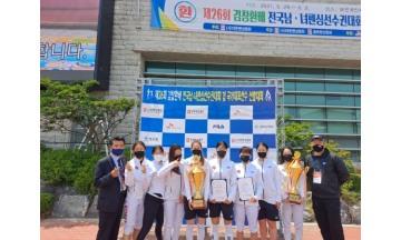 인천 중구청 펜싱팀, 김창환배 전국남녀 선수권 대회 단체전 우승