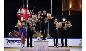 제너시스BBQ그룹, 2021-2022 ISU 주니어 그랑프리 1차, 2차 대회 대한민국 연속 메달 획득