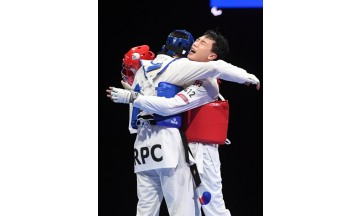 SK에코플랜트 주정훈, 투혼 발휘 패럴림픽 태권도 동메달 첫 쾌거